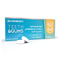 BLIS Teeth & Gums Oral Probiotics for Mouth - Most Potent BLIS M18 Formula Available...