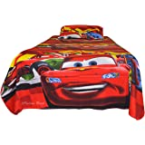 Indian Rack Kid'S Single Bedsheet With 1 Pillow Cover - Premium Cotton Car Design