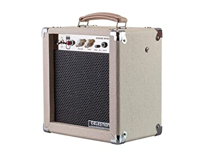Monoprice 611705 5-Watt 1x8 Guitar Combo Tube Amplifier - Tan/Beige with  Celestion Super 8 Inch Speaker, 12AX7 Preamp, Versatile and Durable For All