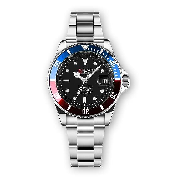 Military Royale Reloj de Hombre Automático Acero Inoxidable Esfera