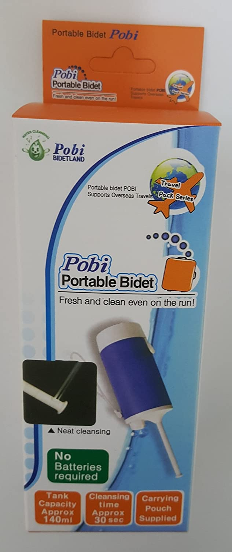Pobi Voyage Bidet Bidet portable/ /Eau jamais juste en appuyant sur le bouton avec pas de piles.