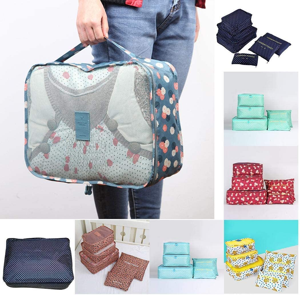Cidere Waterproof Travel Pouch Clothes Organizer Luggage Storage Bag Packing Organizers