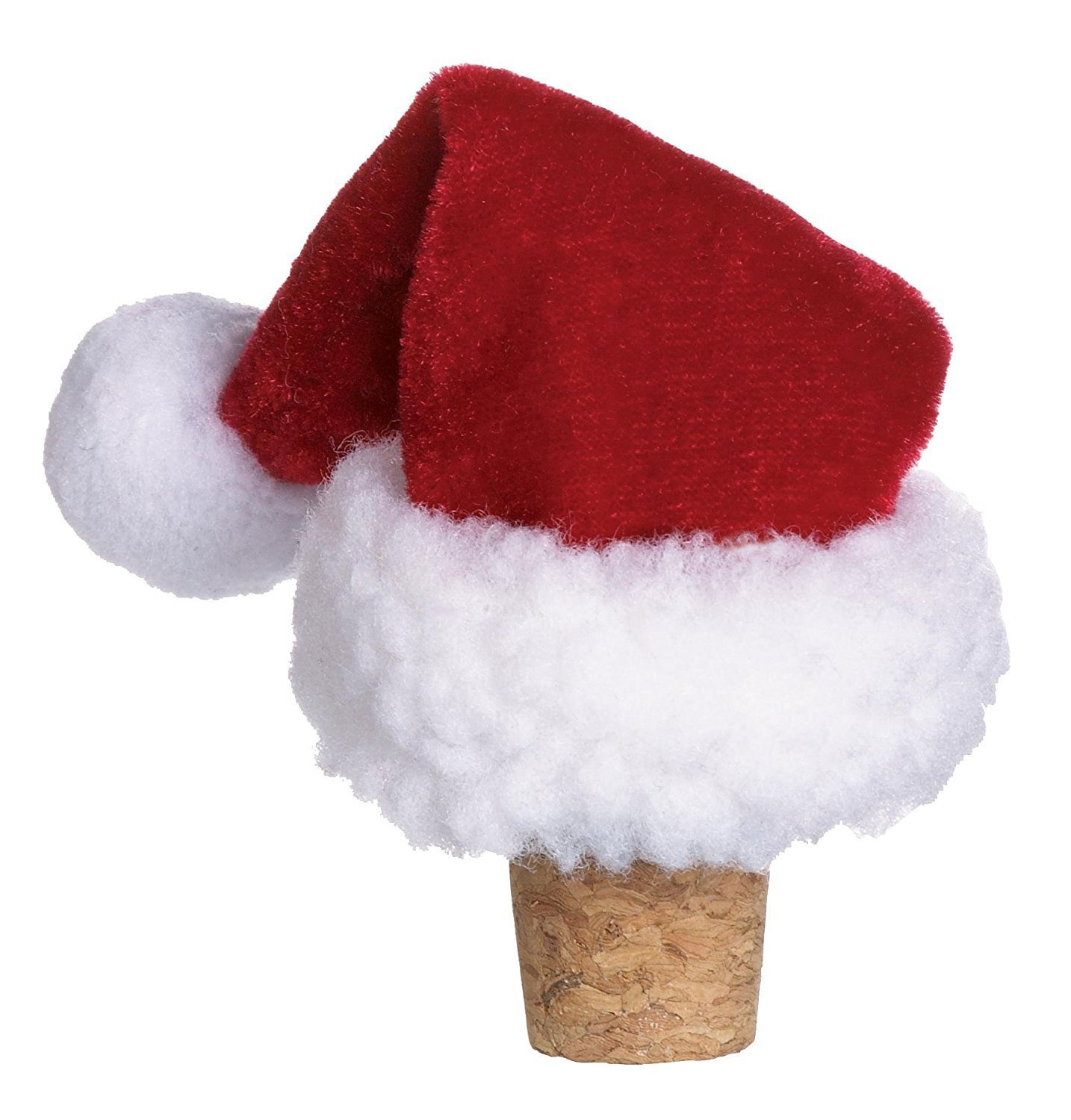 amazon com ganz santa hat wine bottle stopper ex13750