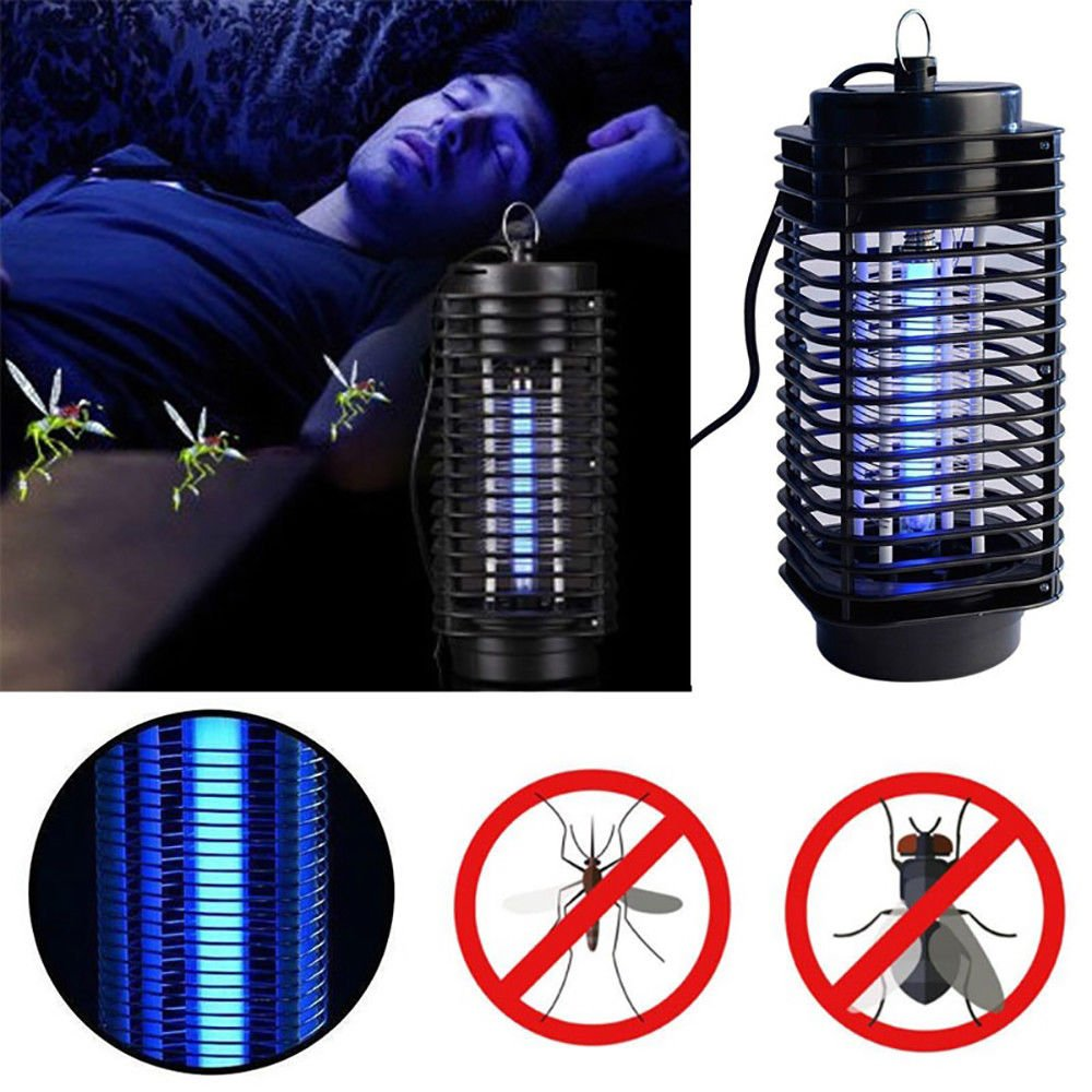 Electronic Mosquito Repellent Night Lamp Uv Fly Bug Insect Killer 110v Us