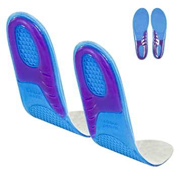 82924df967 Envelop Gel Insoles - Shoe Inserts for Walking, Running, Hiking - Full  Length Orthotics