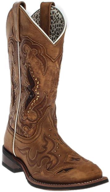 Laredo Women's Spellbound Western Boot Square Toe Tan ...
