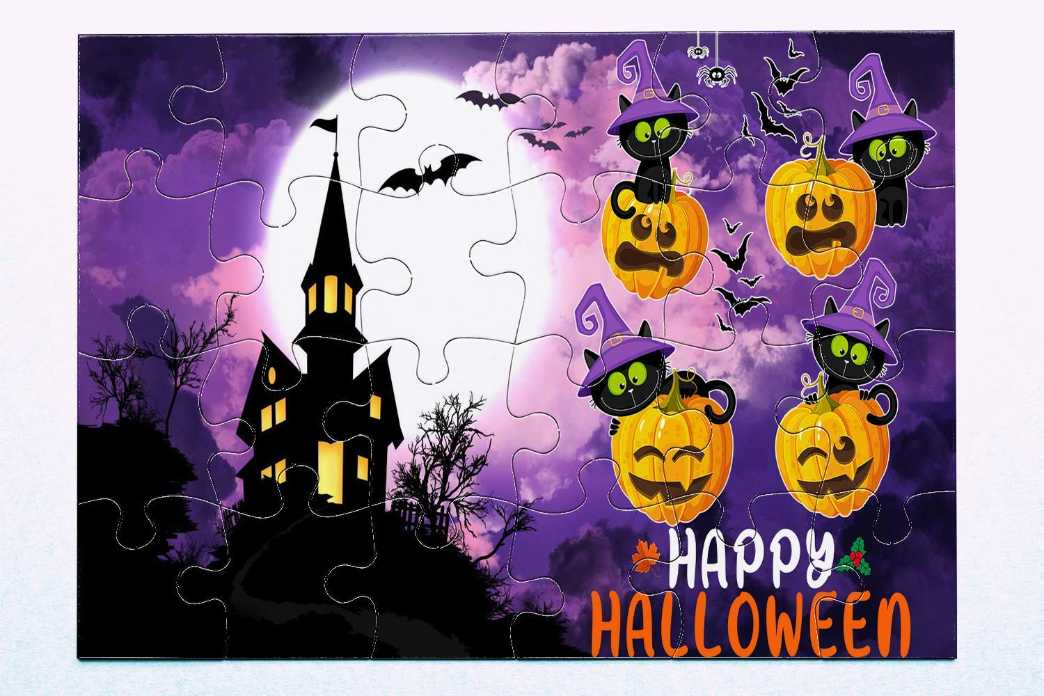 Limited Edition! Family on Halloween For Halloween Lovers Halloween Puzzles Happy Halloween Best Gift For Friends