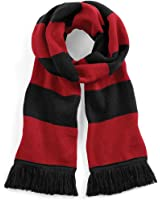 Beechfield Varsity Unisex Winter Scarf (Double Layer Knit)