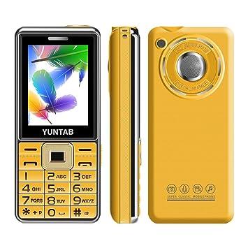 YUNTAB C333 Teléfono móvil para mayores pantalla de 2.4 ...