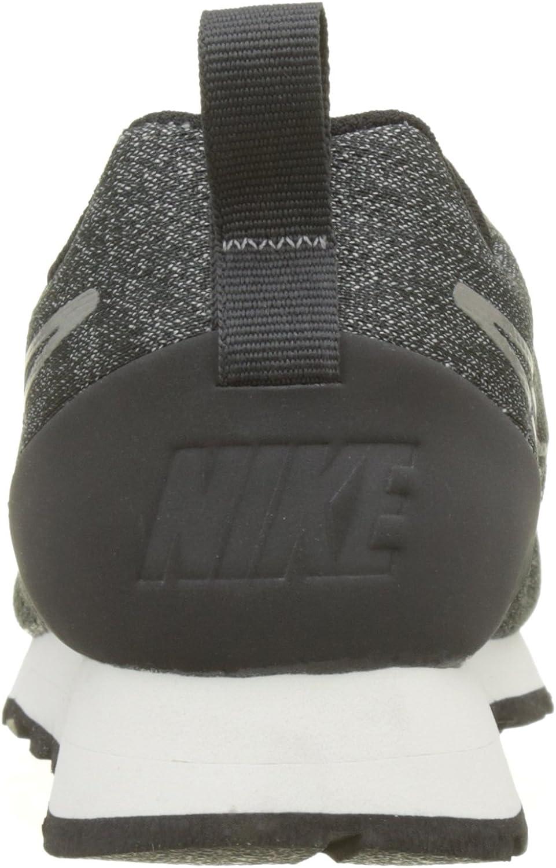 Nike MD Runner 2 Eng Mesh, Baskets Femme Gris Anthracite Anthracite Black Sailor 001