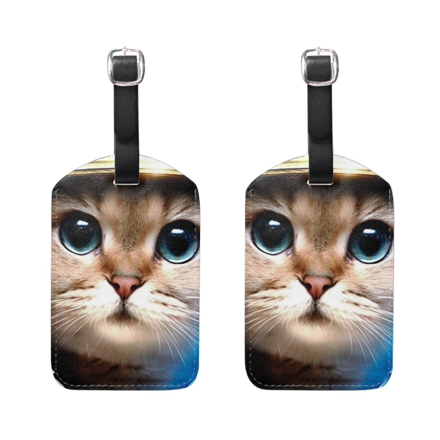 Camouflage Pack Baggage Suitcase Luggage Tags Travel Accessories Set of 2