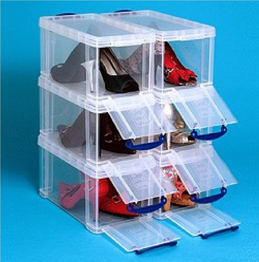 8 litre FRONT OPENING BOX Really Useful clear storage box *MEGA DEAL 4 FOR £38.95* Amazon.co.uk Office Products & 8 litre FRONT OPENING BOX Really Useful clear storage box *MEGA DEAL ...