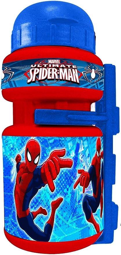 Bidon con Portabidon Infantil Niño Niña compatible con Spiderman ...
