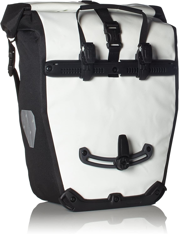 Ortlieb Bolsa para Patinete Blackn Blanco, Blanco-Negro, 17 x 32 x 42 cm, 40 litros, F5101: Amazon.es: Deportes y aire libre