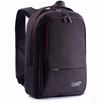 ce5f065ed93 Amazon.com  Wolffepack Metro Backpack - Award Winning Design - 15