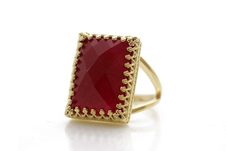 Birthstone Ring Size 6 US Sterling Silver Ring Women Ring CODE HR44 Ring Amazonite Ring Fashion Ring Handmade Ring Statement Ring