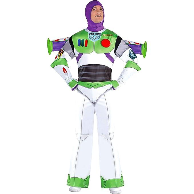 Amazon.com: Party City Buzz Lightyear Disfraz de Halloween ...