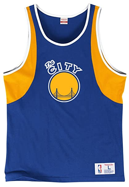 287ababedd5 Amazon.com : Golden State Warriors Mitchell & Ness NBA