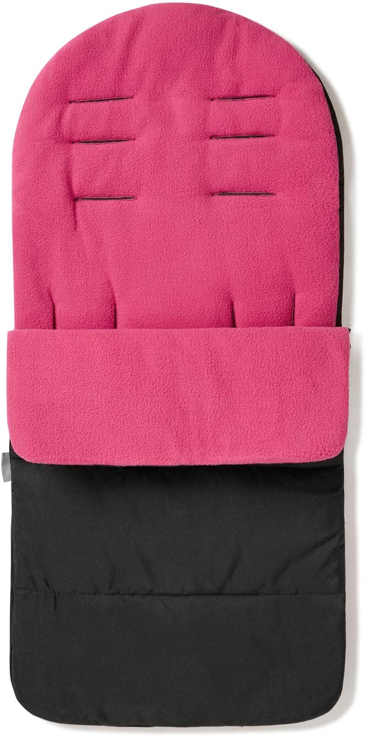 Premium Footmuff Cosy Toes Compatible with Cosatto Woosh Pink Rose