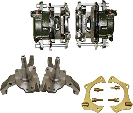 For GM Ford Mustang 2 II Rear Disc Conversions Brake Calipers 10mm Pair