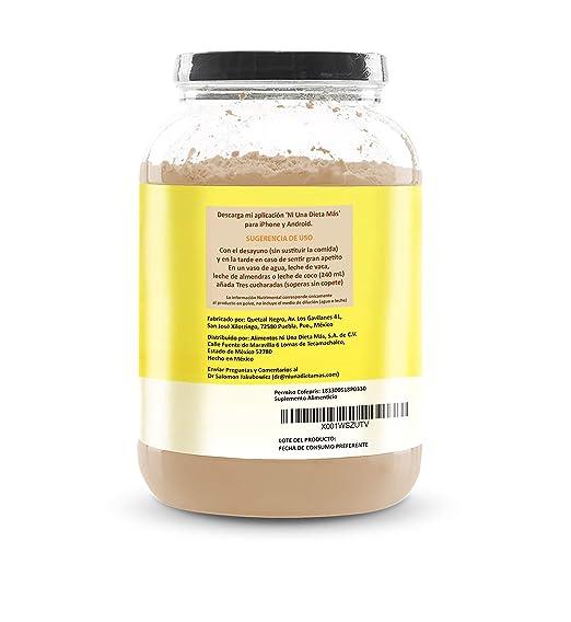 Amazon.com: Ni Una Dieta Más (whey Protein Isolate) (Chocolate ...