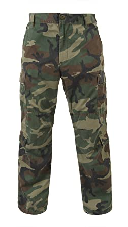 Amazon.com: BDU Army Fatigues (Green Camo): Military Pants: Clothing