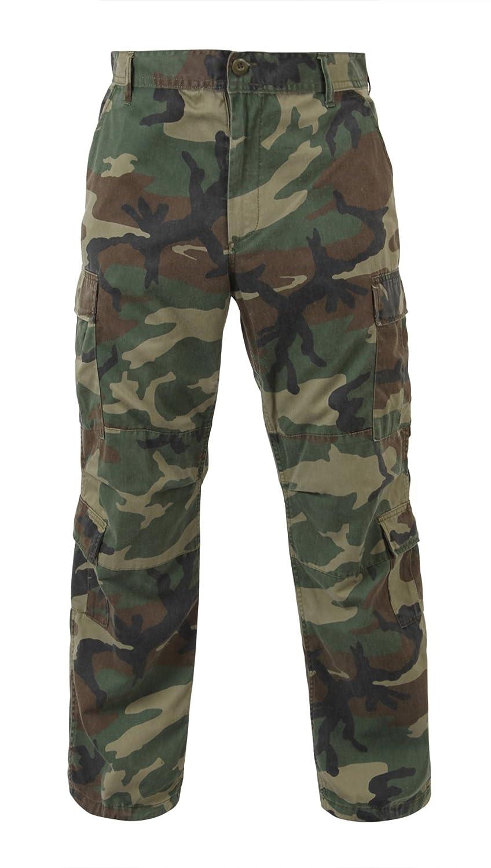 66419b30 Amazon.com: BDU Army Fatigues (Green Camo) SML: Military Pants: Clothing