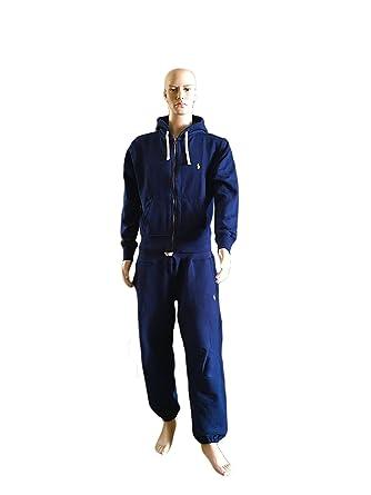 Polo - Chándal - Deportivo - para Hombre Azul Azul Marino Small ...