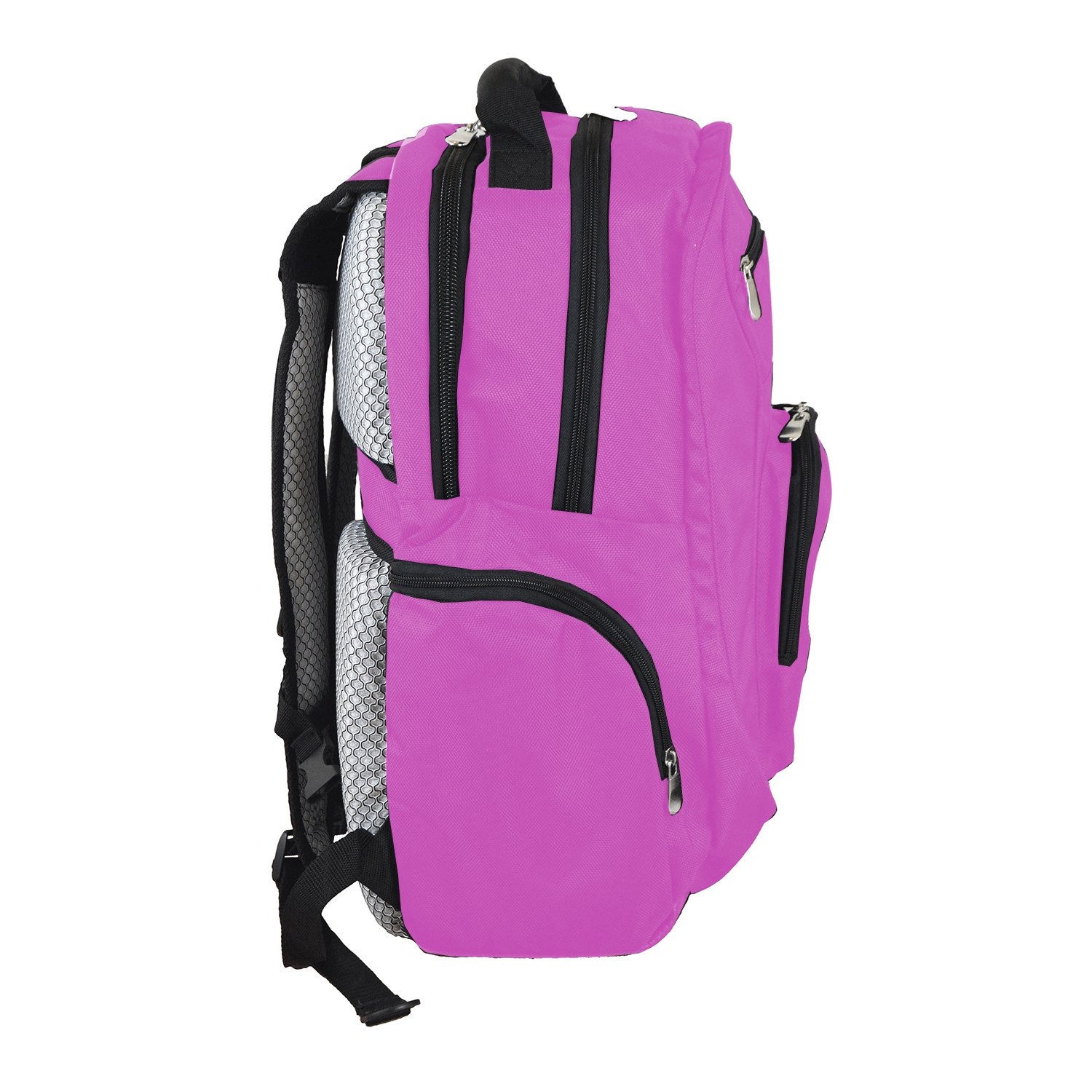 NBA Boston Celtics Voyager Laptop Backpack, 19-inches, Pink by Denco (Image #2)