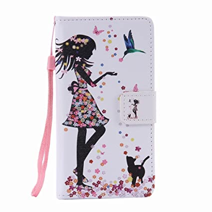 Amazon.com: Bairry BQ Aquaris M5 Case, Fashion Beauty Flip ...