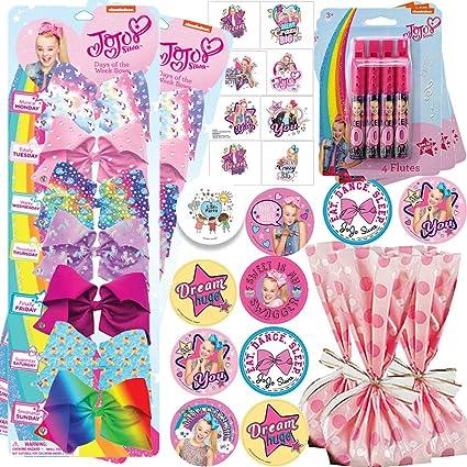 Amazon.com: Deluxe Jojo Siwa - Pack de 12 bolsas de regalo ...