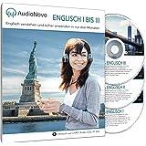 AudioNovo Englisch I – III: In nur 3 Monaten schnell und einfach Englisch lernen - Audio-Sprachkurs Englisch für Anfänger und Fortgeschrittene (Englisch Sprachkurs, Hörbuch 41 Std. Audio)