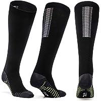 PORHOWE Compression Socks for Women & Men, Fit for Running, Athletic Sports, Crossfit, Flight, Travel, Pregnancy, Nurses (20-30 mmHg)
