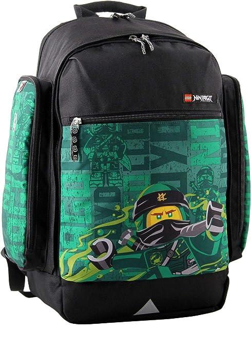 LEGO Bags Mochila Escolar, Energy (Verde) - 400806467