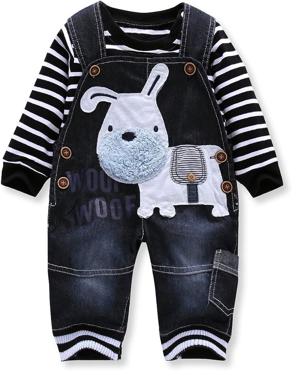 Baby Jungen M/ädchen Overall Vlies Strampler Langarm Schlafanzug Niedlich Spielanzug Warmer Onesies Body 9-12 Monate