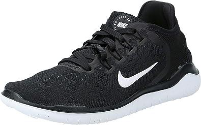 Nike Damen Free Run 2018 Laufschuhe, Schwarz