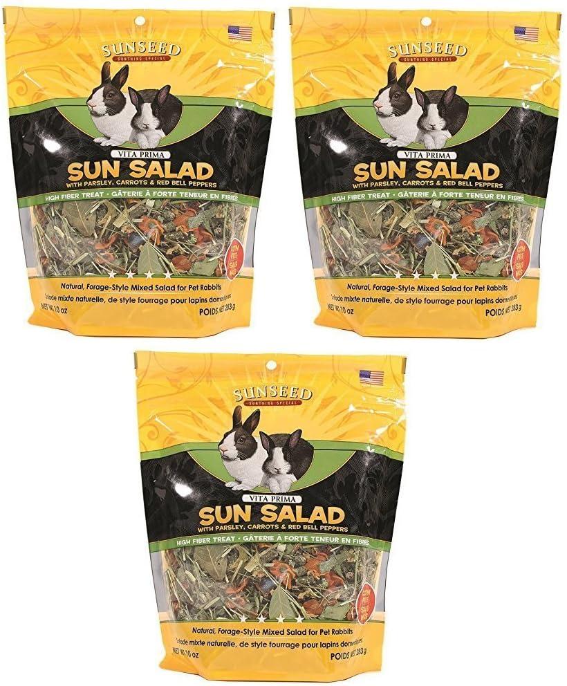 Sun Seed Vitakraft Vita Prima Sun Salad Treat for Rabbits (Pack of 3)
