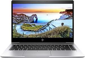 """HP Elitebook 840 G5 14"""" FHD (1920x1080) Business Laptop (Intel Quad-Core i5-8250U, 8GB DDR4 RAM, 256GB SSD) USB Type-C, HDMI, Windows 10 Pro (Renewed)"""