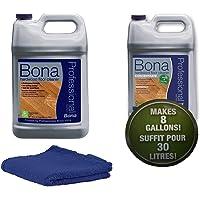 Bona Pro Series Recambio para Limpiador de suelos de madera, 1galón, CONCENTRATE KIT