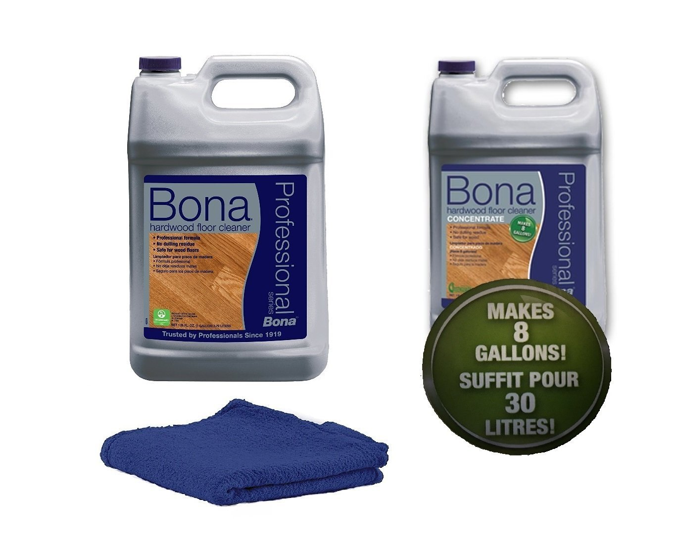 Bona Pro Series Hardwood Floor Cleaner Refill with Concentrate (makes 8 gallons)