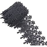 Floral Venise Tassel Lace Applique Flower Embroidery Applique Sewing Craft 2 Yards