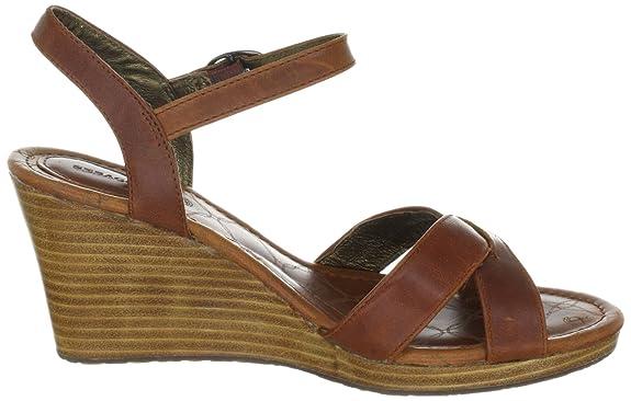 vestir CROSS color Zapatos Sebago talla de B44500 cuero GREENWICH marrón de para 40 mujer w1xqqF6CXa