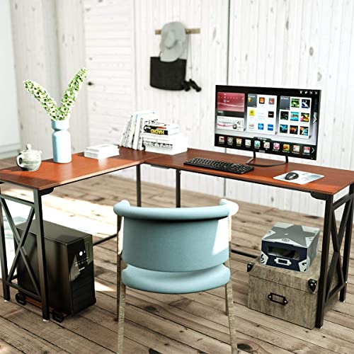 Herasa L-Shaped Desk Computer Corner Desk