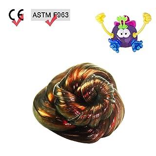 GoldenMonkey Stress Reliever Putty con Illusion Colors with Accessories Miglior Regalo di Natale per Bambini (Bicchiere)