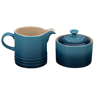 Le Creuset Stoneware Cream and Sugar Set - Marine