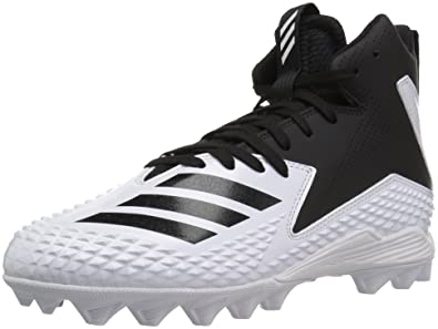 finest selection 56299 2f47c adidas Unisex Freak Mid MD J Football Shoe FTWR White, core Black, 1 M