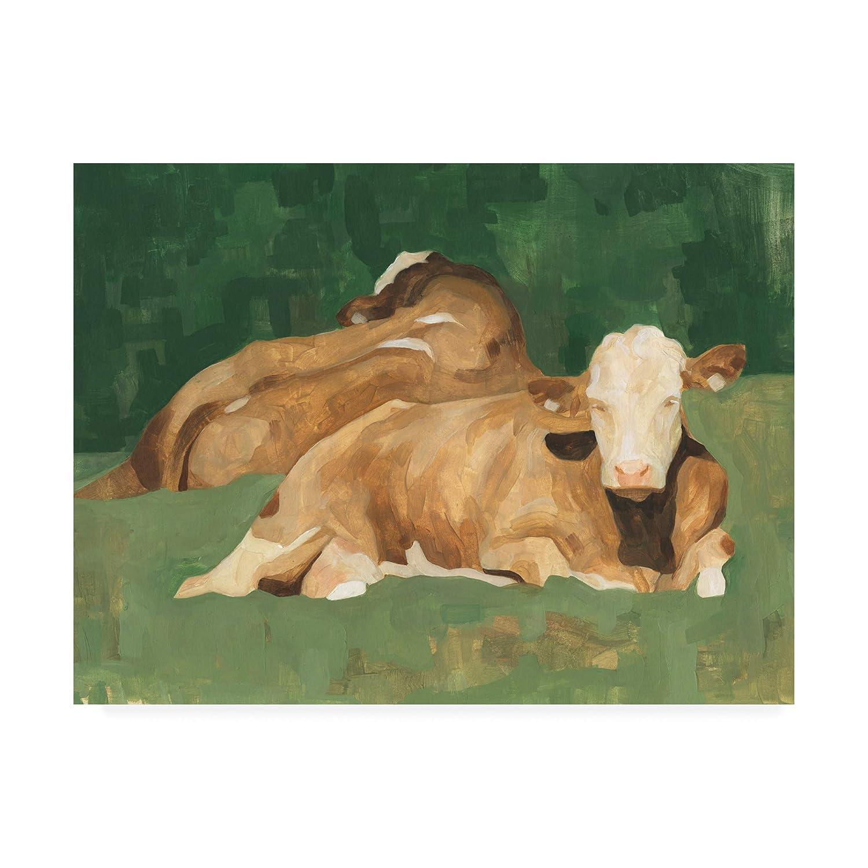 14x19 Trademark Fine Art WAG15650C1419GG Bucolic Sunday I by Emma Scarvey, 14x19