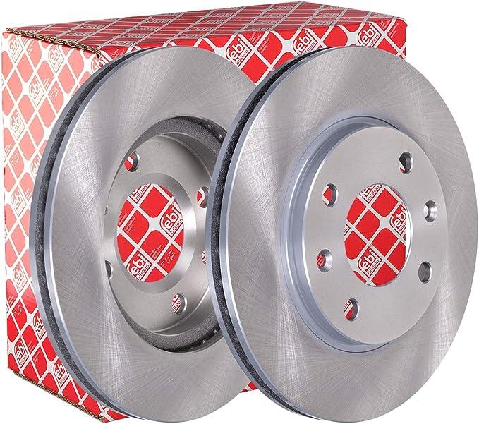 Febi Bilstein 10316 Bremsscheibensatz 2 Bremsscheiben Auto