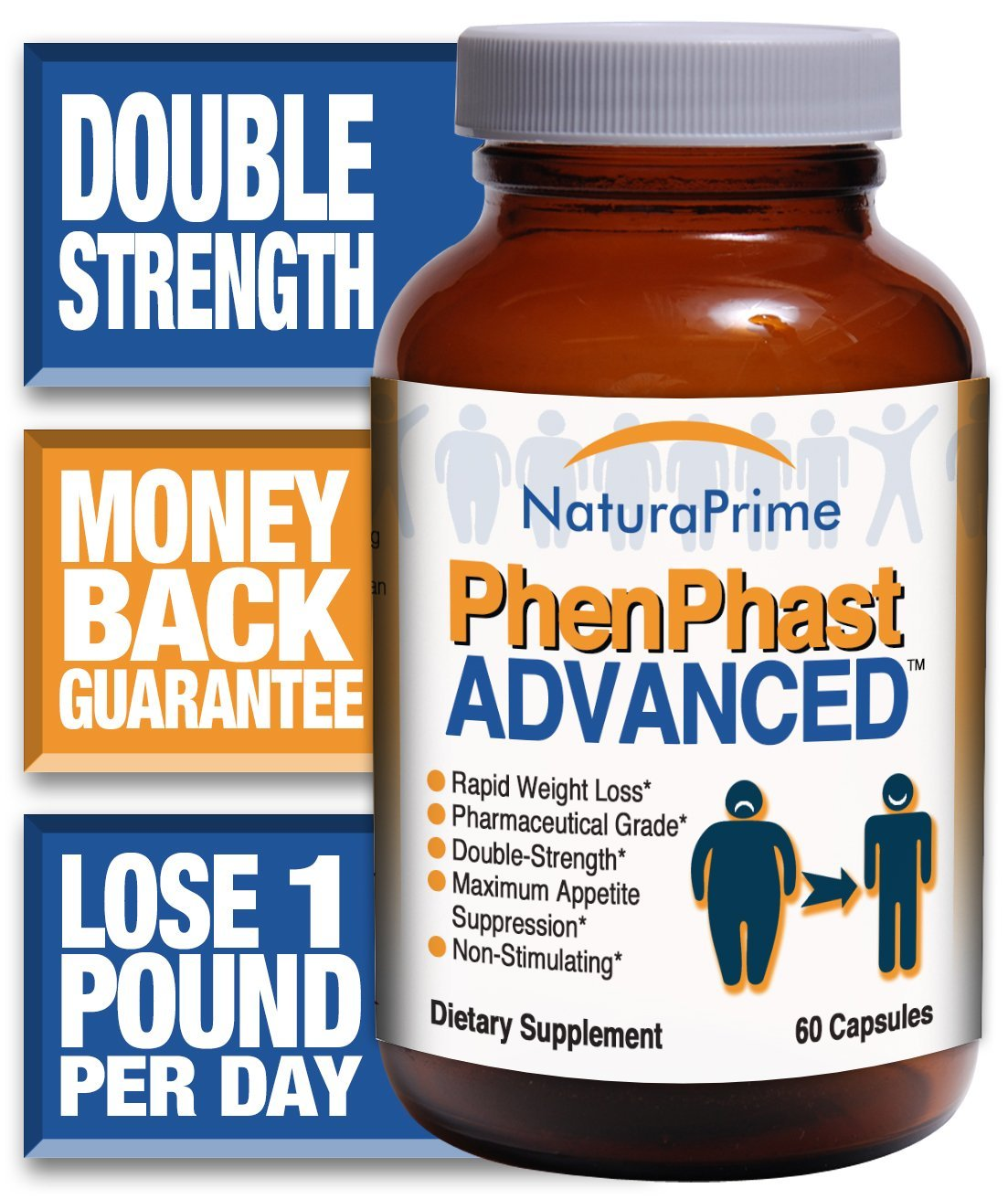 PhenPhast ADVANCED - Double-Strength for Rapid Weight Loss - GUARANTEED! by NaturaPrime