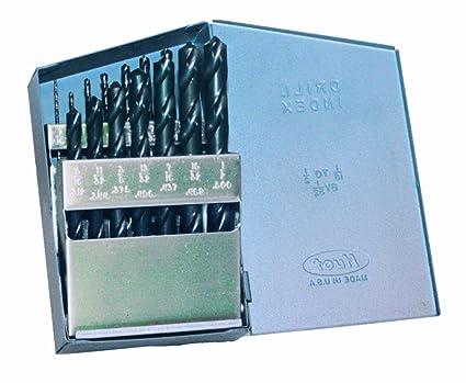 3 PCS 31//64 H.S.S Jobber  Drill Bits Black Oxide 118 Deg Point Metal Cutting
